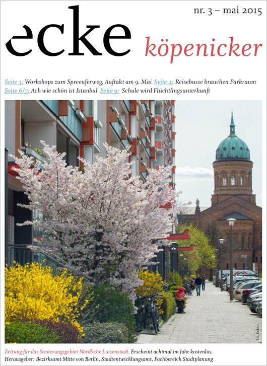 Stadtteilzeitung ecke koepenicker Nr 3 Mai 2015 Cover